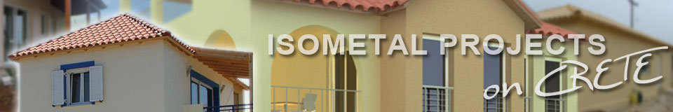 crete projects - isometal - isorast construction